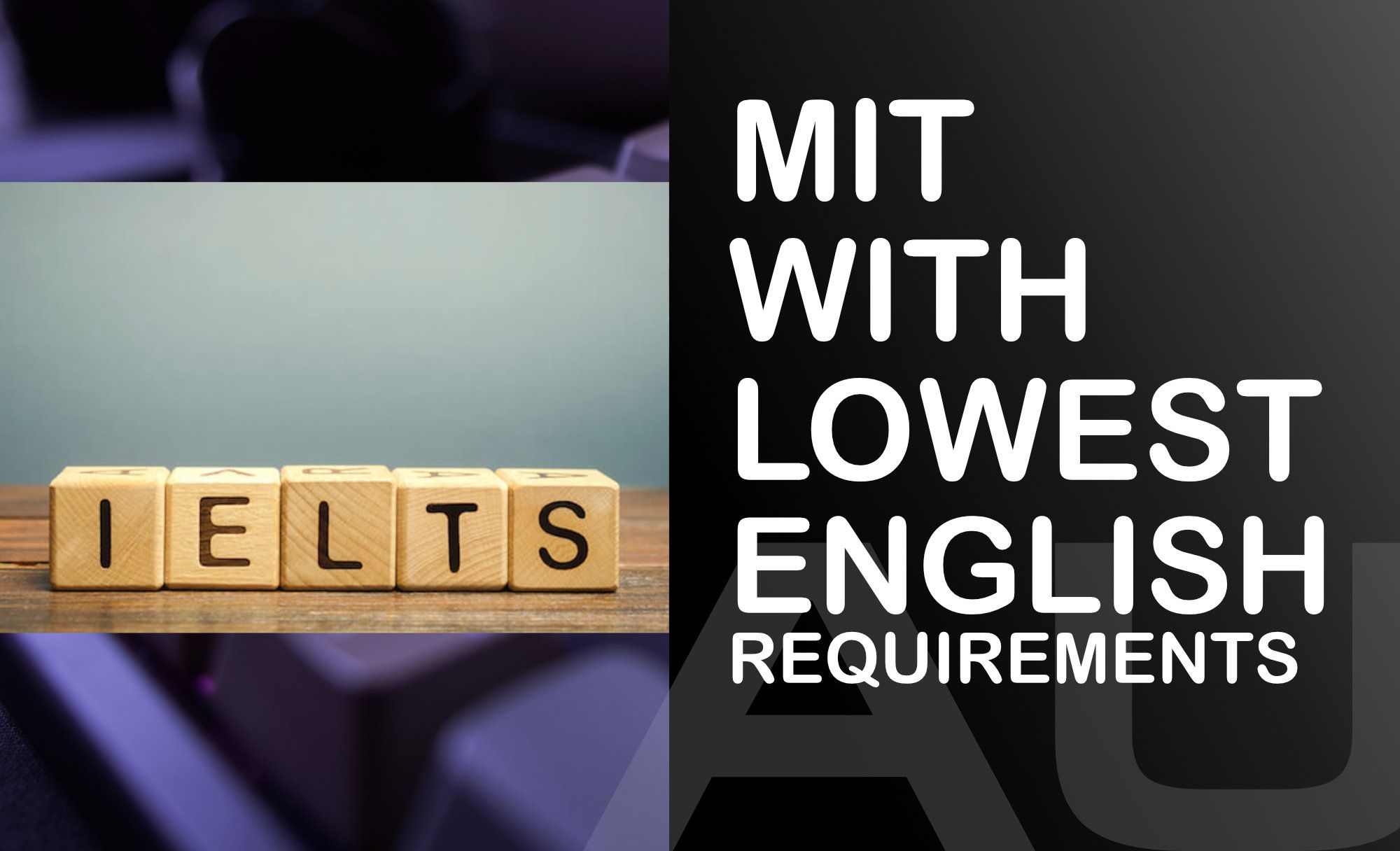 🇦🇺 MIT degrees in Australia with lowest English requirement