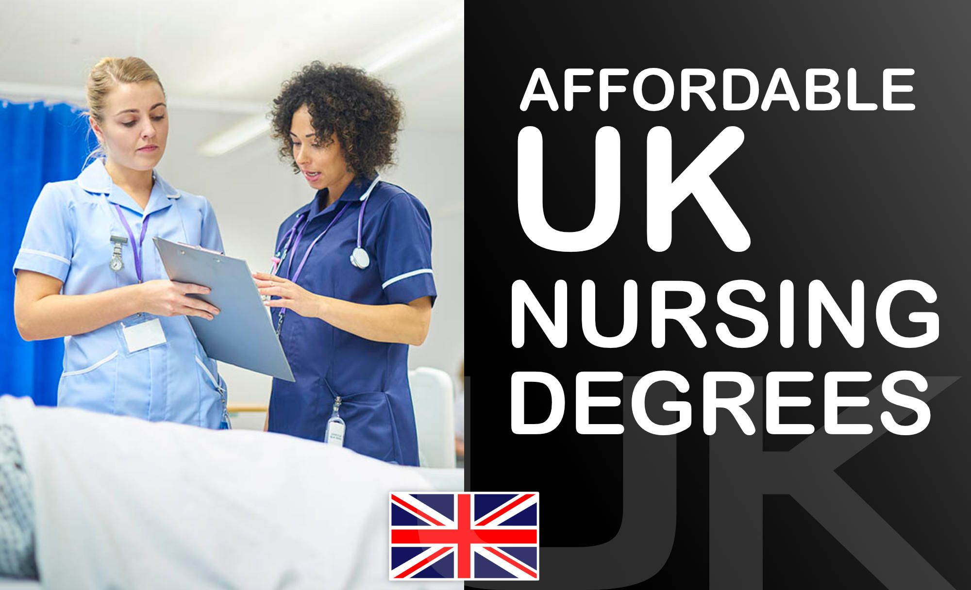🇬🇧 Top 5 Most Affordable Nursing Degrees in the UK