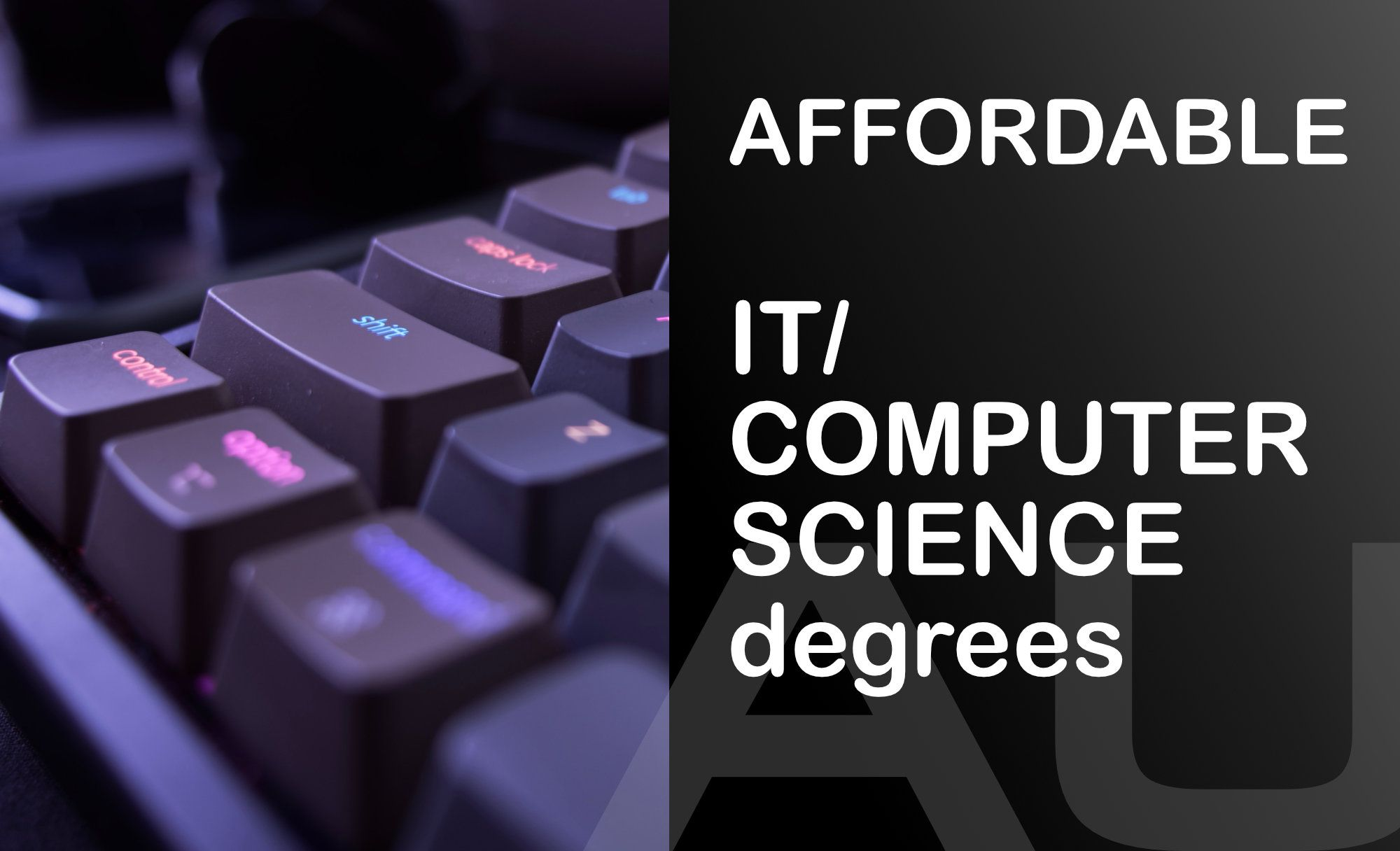 🇦🇺 Most affordable Master's in IT/Computer Science 💻 degrees in Australia