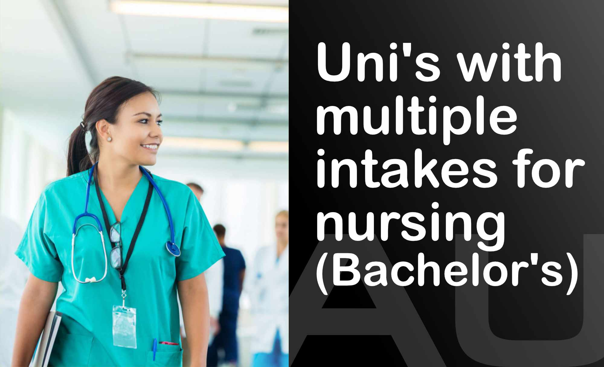 🇦🇺 Australian Universities with mid-year intake for Nursing students (Bachelor's)