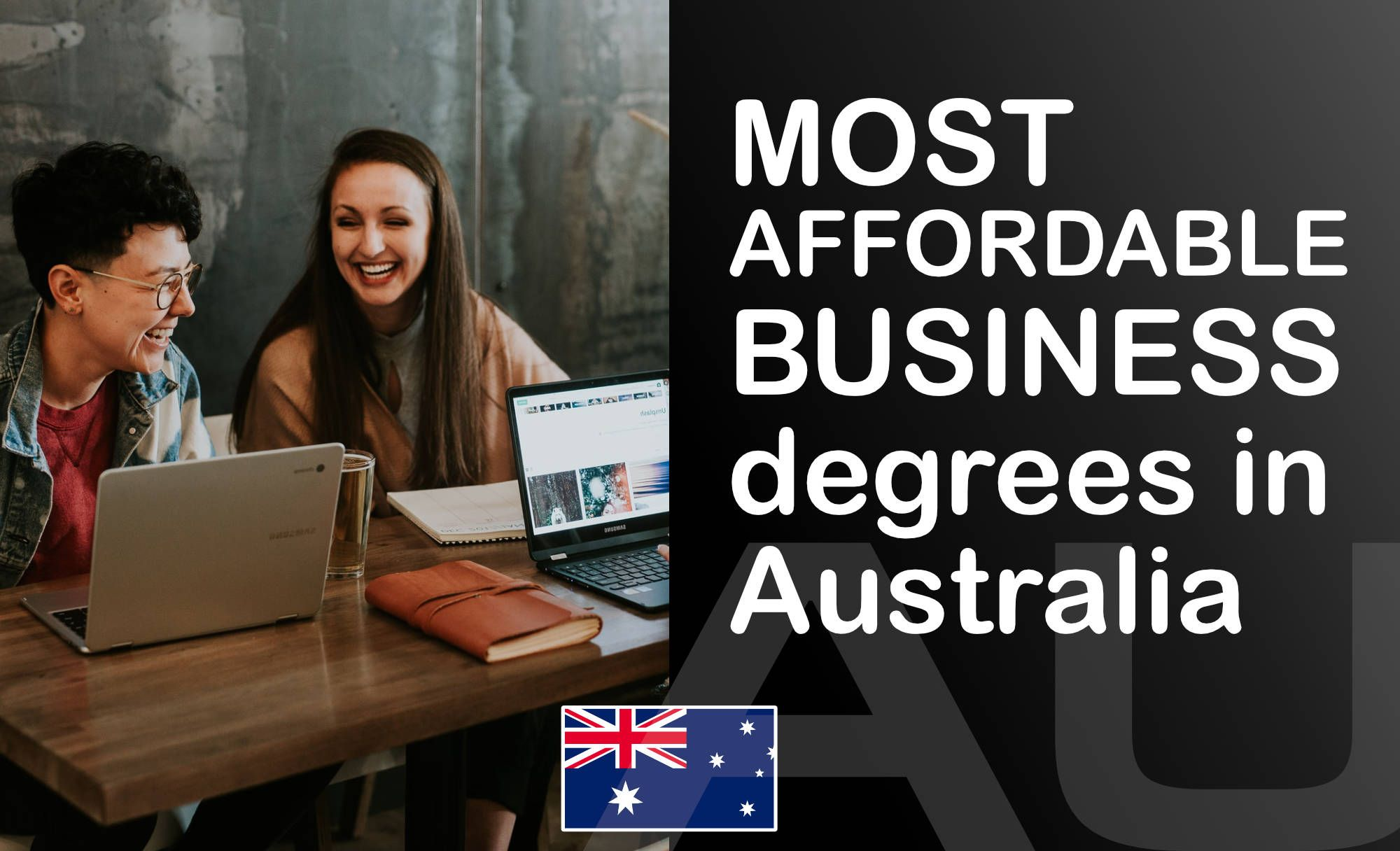 🇦🇺 Top 10 Most Affordable Business degrees in Australia